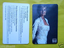 telefonkarten 1998 phone cards 100 units lady diana princess diana phonecards gq