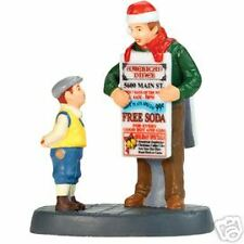 """Dept 56 Christmas In The City """"Free Soda For You?"""" ~ Retired"""