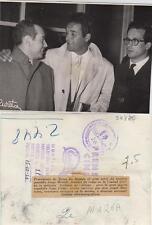Jorge Mistral. Fotografía del Artista procedente de Roma, 15/10/1956.