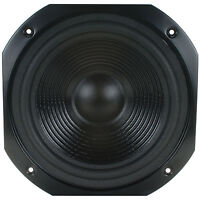 "NEW 10"" Woofer Replacement Speaker.8 ohm.12"" Square Frame Home Audio.Bass.10in"