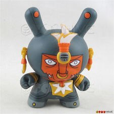 Kidrobot Dunny 2007 Azteca Series 1 Warrior Ehecatl by The Beast Brothers