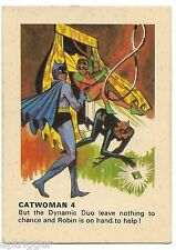 1966 Batman Weeties & Rice Krinkles Catwoman 4 (Excellent)