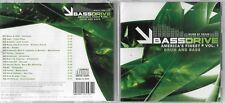 Bassdrive America's Finest Drum And Bass Vol 1 CD Album V/A