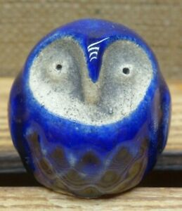 Ceramic Figurine OWL Art Sculpture Statuette Collectable Décor Decoration Gift