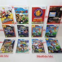 Super Mario Games (Wii) - Multi-Listing - *Complete and Premium Refurbished*