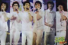 "SUPER JUNIOR ""HAPPY- 6 SHOTS OF THE BOYS IN CONCERT"" ASIAN POSTER - Korean K-Pop"