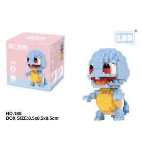 Nintendo Pokemon Squirtle 356pcs Nano Blocks