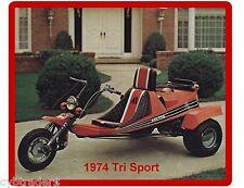 1974 Tri Sport Three Wheeler  Refrigerator / Tool Box /  Magnet