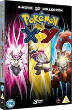 Pokmon The Movie Collection 17 19 XY DVD