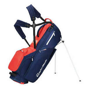 TaylorMade TM21 Flextech Stand Bag Navy/Red/White with Flag Logo NEW 12397