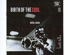 CD MILES DAVIS birth of the cool 2001 EX+ the rudy van gelder edition