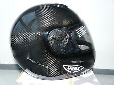 Uvex Onyx Carbon Vollcarbon Motorrad Autoracinghelm mit Strassenzulassung Gr XL