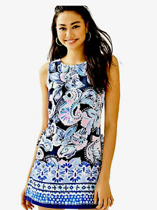 Lilly Pulitzer NWT High Tide Navy Holy Flockamolie 🕊 Romper $178 Size 10