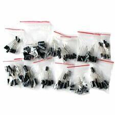 120pcs 12 Values 1uf 470uf Electrolytic Capacitors Assortment Kit