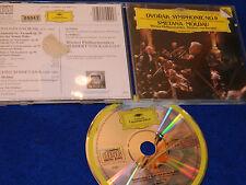 1985 germany CD DVORAK wien SYMPHONIE n°9 SMETANA la moldau KARAJAN