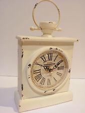 Clock Antique Style Vintage Metal Home Deco Kensington London