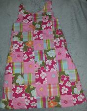 Gymboree patchwork sundress. size 6. floral, stripe, bow back detail