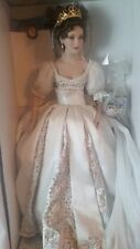 "Franklin Mint Faberge Natalia Spring Bride Doll 18"" Gorgeous Sealed COA Shipper"