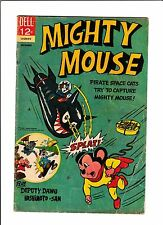 MIGHTY MOUSE #169  [1966 VG]  PIRATE SPACE CATS COVER!