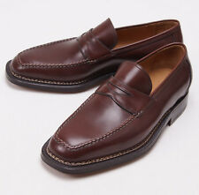 NIB $1295 SUTOR MANTELLASSI Norwegian Welt Loafers Shoes US 7.5 D Norvegese