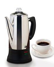 Elite Platinum Ec-120 Stainless Steel 12 Cup Coffee Maker (ec120)