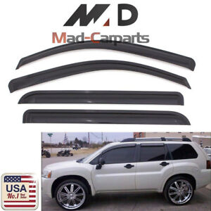 Window Deflector Visor Shade Sun Guard For 07-10 Saturn Outlook 07-12 GMC Acadia