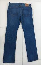 MENS VANS STRAIGHT LEG BLUE JEANS SIZE W 36 L 34 RRP $120