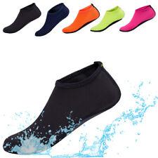 Mens Aqua Water Shoes Barefoot Swim Surf Yoga Sports Beach Exercise Skin Socks