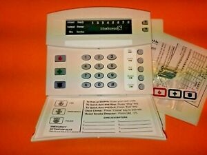 Interlogix GE Security NetworX NX-1308E Alarm Keypad Interlogix Logo Boxed NEW!