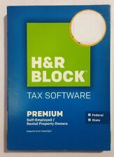 2015 H&R Block Premium Federal and State BRAND NEW!!! FACTORY SEALED!!!