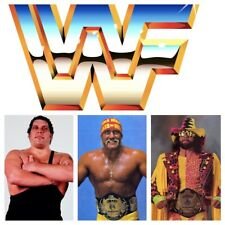 Complete WWF Golden Era Episodes Collection: TV, PPV, SNME, Extras 1984-1992 WWE