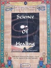 .Science of Healing by Dr. Malachi Z York (Stock Photo) free shipping