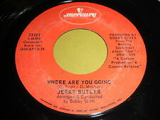 Jerry Butler: Where Are You Doing / You Can Fly 45 - Soul