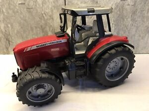 Bruder Massey Ferguson 7480 Red , Black & Grey Plastic Tractor 1:16 Scale