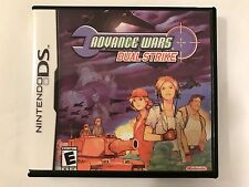 Advance Wars Dual Strike - Nintendo DS - Replacement Case - No Game