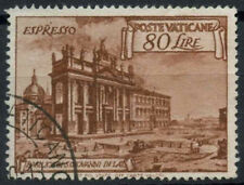 Vatican City 1949 SG#E150, 80L Red-Brown Express Letter Stamp Used #D14954