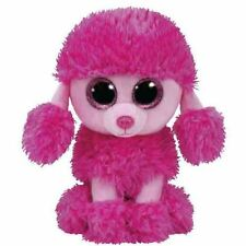 """TY Beanie Beanie Boo 6 Inch Patsy the Poodle Pink - 6"""" Collectable Plush"""