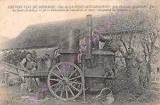 TOP CPA METIER BOUILLEUR ALAMBIC FABRICATION EAU DE VIE DE MARC JEAN OUVRARD