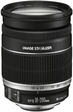 Canon Telephoto Zoom Lens EF-S18-200mm F3.5-5.6 IS APS-C Compatible
