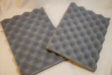 LOT 2 soft Recycled Foam Packing Sheet Pad Flexible Wrapping Shipping Gray 12x8