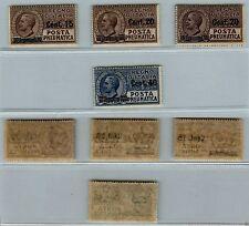 REGNO - 1924/1925 - POSTA PNEUMATICA serie completa quattro valori - (4/7) - MNH