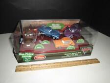 Disney Cars 2 - Diecast Metal Secret Agent Ops 4 Pack - Mater McQueen - Sound
