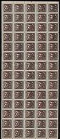 Armenia 1922 SC 307 mint Sheet of 70 . la49