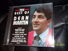 NEW SEALED THE BEST OF DEAN MARTIN CD HARD TO FIND LOOK BUYT IT