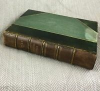 Shirley Charlotte Bronte Rare Antique Book Leather Bound 1920 Fine Binding