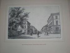 Frankfurt - Neue Mainzer Straße   Druck 32 x 31 cm