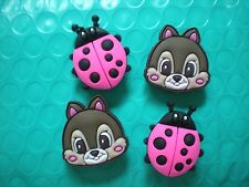 Clog Shoe Charm Plug Holey Accessories WristBand Beetles Squirrels