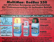 """Trinkwasseranlage Aufbereitung """"Red Box 250"""" MultiMan Wohnmobil Service"""