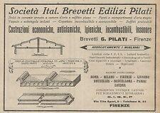 Z0751 Gesellschaftsspiel Ital. Patent Häuser Pilati - Werbung Der 1925