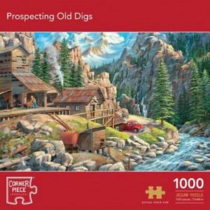 Prospecting Old Digs 1000 Piece Jigsaw Puzzle  f10